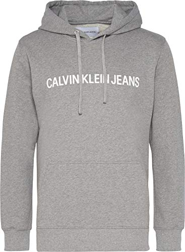 Calvin Klein Męska bluza z kapturem Institutional Reg