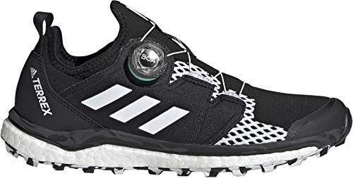 adidas Terrex Agravic Boa W, Zapatillas de Trail Running Mujer, NEGBÁS/FTWBLA/MENACI, 42 EU