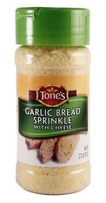 Tone's Garlic Bread Sprinkle with Cheese, 2.12-Ounce