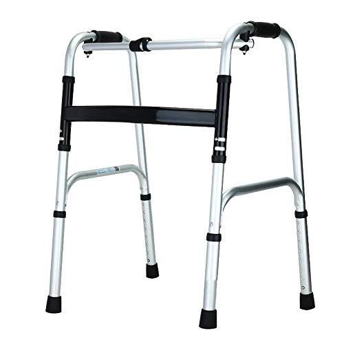 Gehrahmen Rollatoren Höheneinstellung Stehen Gehhilfe beweglich und faltbar Antrieb Knopf Walker leichtgewichtrollator faltbar