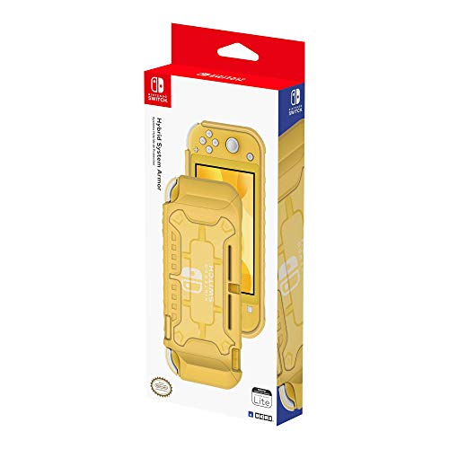 Hybrid System Armor for Nintendo Switch Lite, Yellow, HORI, 873124008692