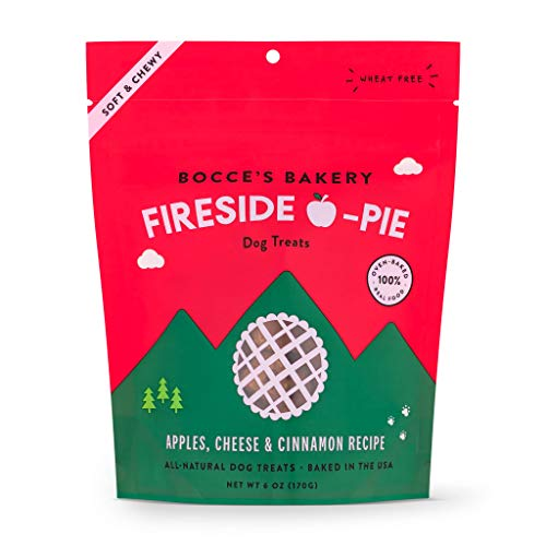 Bocce's Bakery Fireside Apple Pie, All-Natural, Soft & Chewy Treats