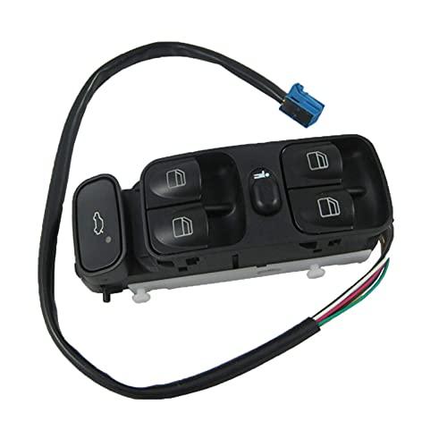 Nuevo Interruptor Apto para interruptores de Ventana Principal de energía del Coche Apto para Mercedes Benz C320 C230 C240 C280 C350 C55 AMG
