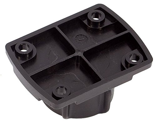 Ultimateaddons 1 inch / 25mm Ball Connector with AMPS 4 Hole Layout Plate