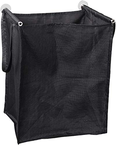 ROSSLBF Huishoudelijke artikelen Plastic Wasmand Sorter Storage Flexibele Tall Kleding waszak (Color : Black, Size : 30 * 50 * 40cm)