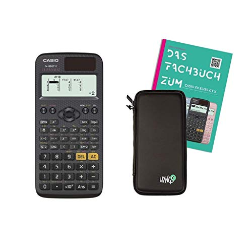 Casio FX-85 GTX + Fachbuch + Schutztasche
