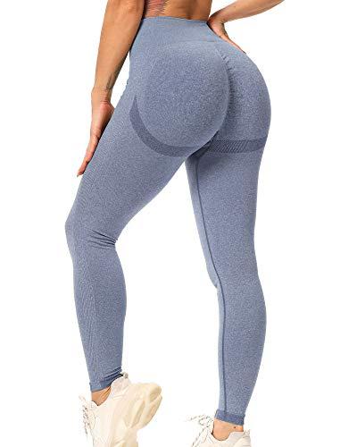 STARBILD Leggings Mallas Mujer sin Costuras Push up Pantalones Largos de Compresión...
