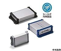 TAKACHI(タカチ電機工業) EXEF型フランジ足付アルミケース EMCシールドタイプ シルバー/グレー EXEF15-10-20SG