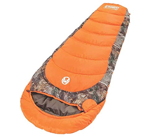 Coleman Realtree Xtra CamoゼロMummy Sleepingバッグ、82 x 32 in