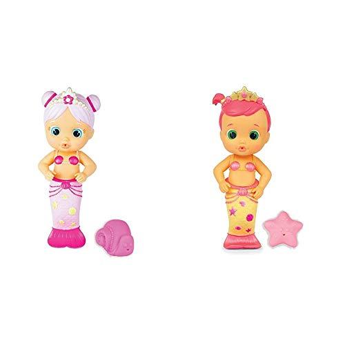 IMC Toys - BLOOPIES - 99623 - Amici del Bagnetto - Sirenetta Sweety &Toys- Bloopies Mermaids Amici del Bagnetto-Sirenetta Luna, Colore Rosa, 99647IM