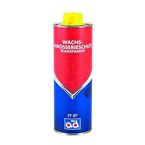 AD Chemie Wachs-Karosserieschutz CT07 1l transparent Fahrzeugboden Radkasten Kotflügel PVC gegen Korrosion Bitumen verträglich 020612BRCA