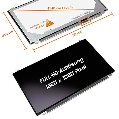 "Preisvergleich Produktbild Laptiptop 15, 6"" LED Display Screen matt 1920x1080 Full HD N156HGA-EAB REV.C1 Panel Bildschirm"