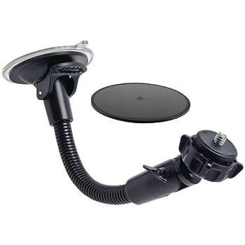 Arkon Camera Windshield Suction Car Mount for Sony Samsung Panasonic Nikon Cameras