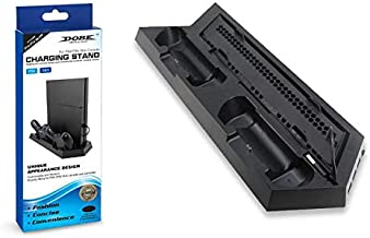 PlayStation 4\slim Stand with cooling fans and charger for controllers and three USB ports - Dobe