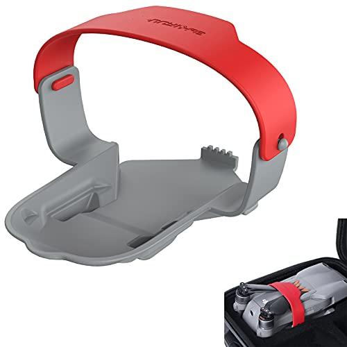 Tmom Soporte de hélice Pala Estabilizador Fijo Protector para DJI Air 2S Mavic Air 2 Drone Propeller Guard Accesorios (Rojo)