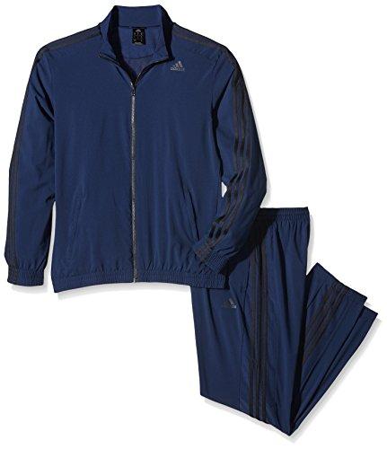 adidas Herren Trainingsanzug Essentials TS, Collegiate Navy/Black, 10