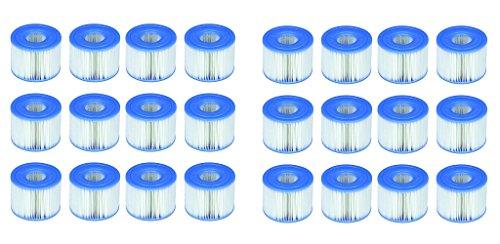 Intex Cartouches pour Spa 12 Lot de 2 Cartouches de Filtration Soit 24 Cartouches