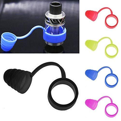Zantec Sigaretta Elettronica Accessori,Senza Nicotina,No E Liquid,Coperchio copri-occhiale a prova di bocchino in silicone con fascia nero