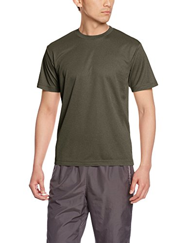 [グリマー] 半袖 4.4oz ドライTシャツ (クルーネック) 00300-ACT アーミーグリーン L (日本サイズL相当)