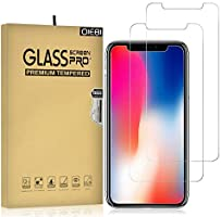 DIEBI iPhone XR/iPhone 11 Screen Protector, iPhone 11 Screen Protector, 2-Pack Temper Glass Screen Protector for iPhone...