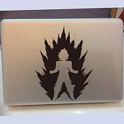 JXFM Dragon Ball Z Wukong regen wolk muursticker kleuterschool power super Saiyajin Saiyajin Anime Wallpaper sticker auto laptop vinyl 56x44cm