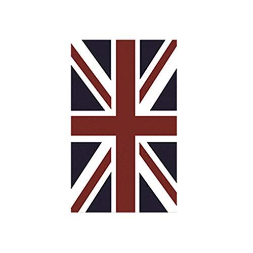 Buckingham Union Jack Bandera británica Área Londres Alfombra Alfombras para sala estar Dormitorio Alfombra visión estéreo, Alfombra antideslizante ilusión Alfombra antideslizante para mesa interior.