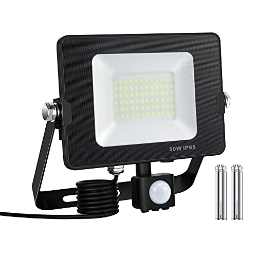 lampada esterno sensore movimento Faretto con Sensore di Movimento
