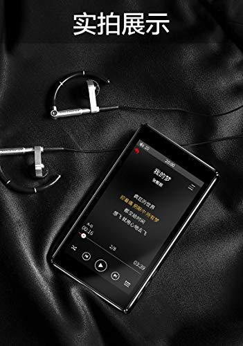 RUIZU D20 - Lettore MP3 con touch screen, 8 GB, supporto radio FM, registrazione video, e-book con altoparlante integrato
