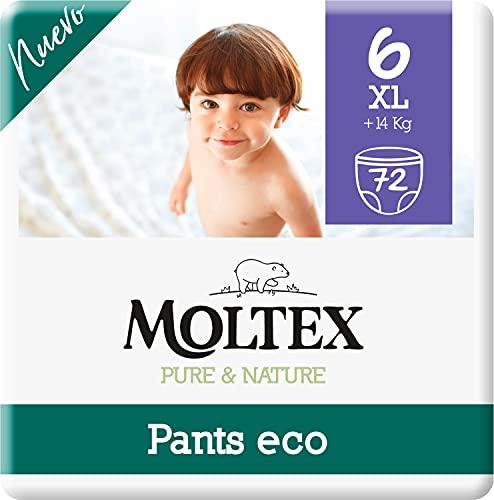 Moltex Pure & Nature Pants Ecologici Taglia 6 (+14 kg) - 72 Pants