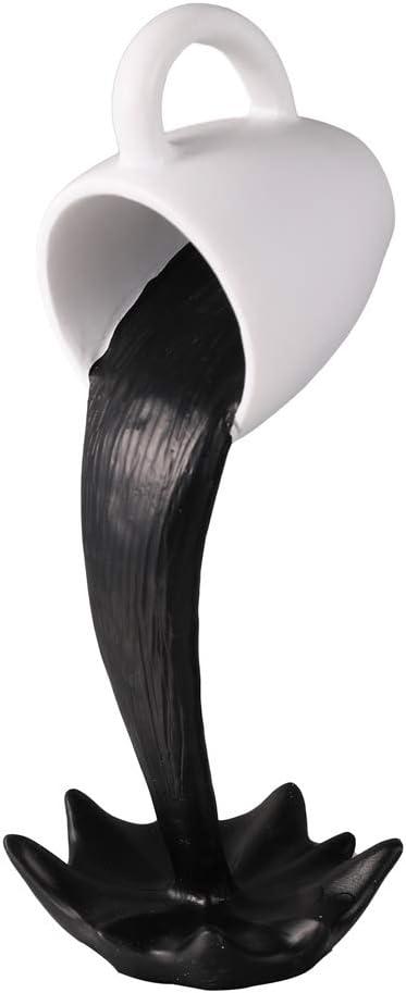 YSINOBEAR Tasse /à caf/é flottante D/écoration pour la maison Sculpture de cuisine