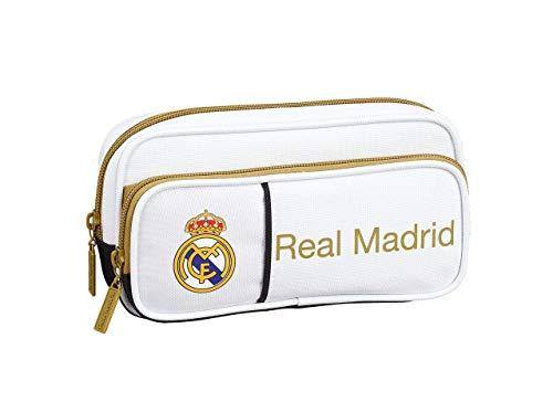 Real Madrid 1ª Equipación 18/19 Estuches portatodo y portaflautas, Unisex Adulto, Multicolor, Talla Única