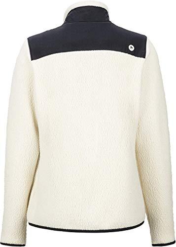 Marmot Wm's Wiley Jacket Femme, Crème/Noir, XL