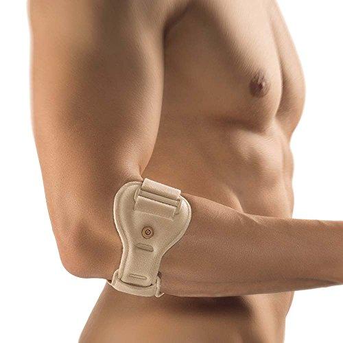 Bort EpiContur® Epicondylitis Soft Spange 1 Pelotte Muskelsprung Unterarm, hautfarben,
