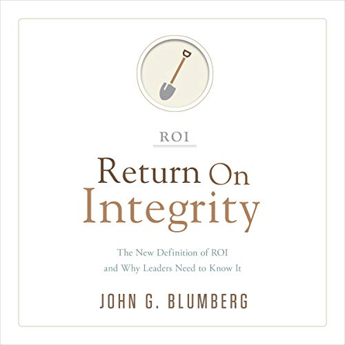 Return on Integrity  By  cover art