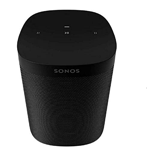 Sonos One SL - The Speaker for Stereo Pairing and Home Theatre Surrounds, Black