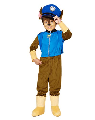 Spirit Halloween Toddler Chase Costume Deluxe (3-4T) - Paw Patrol