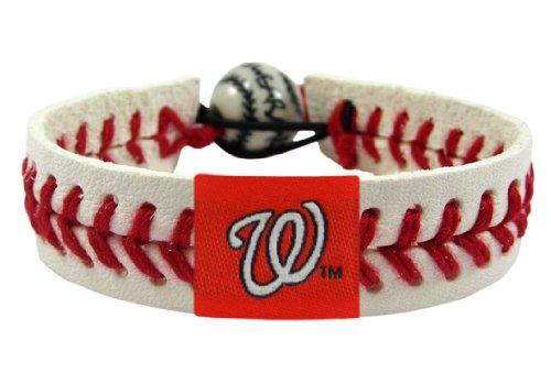 GameWear Washington Nationals Classic Baseball Bracelet