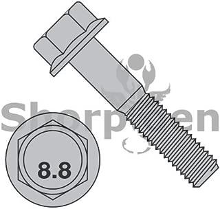 M10-1.5X60 DIN 6921 Class 8 Point 8 Metric Flange Bolt Screw Non Serrated Plain by SHORPIOEN - Box Quantity 200 BC-M1060BF8P