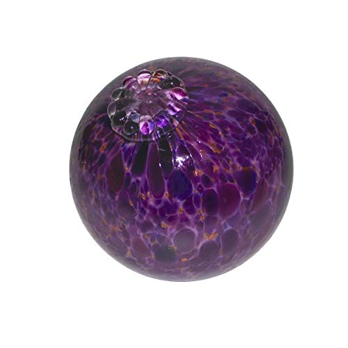 Purple Pond Floats - Available in 3 inches, 4 inches, 5 inches & 6 inches - Blown Glass - Made in Seattle - Dehanna Jones