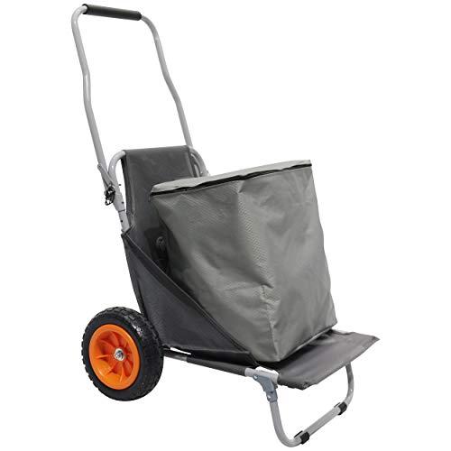 Homecall Trolley-Sitz mit Tragetasche - (Grau)