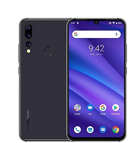 UMIDIGI A5 Pro 6.3'' FHD+ Unlocked Smartphone with Triple Main Camera(16MP+8MP+5MP), 32GB+4GB Ram GSM Cell Phones International Version, Dual 4G LTE, Android 9.0 - US Warranty(Space Grey)