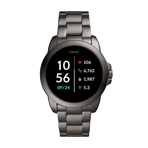 Fossil Smartwatch GEN 5E Connected da Uomo con Wear OS by Google, Frequenza Cardiaca, GPS, Notifiche per Smartphone e NFC