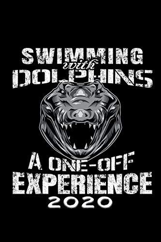 Terminkalender 2020: Schwimmen mit Delphinen Terminkalender und Tagesplaner ca DIN A5 farbig   376 Seiten   1 Seite pro Tag   Sarkasmus   Alligator