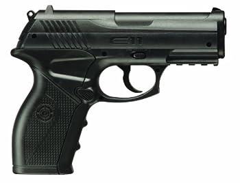 Crosman C11 Semi-Auto CO2-Powered BB Air Pistol  black