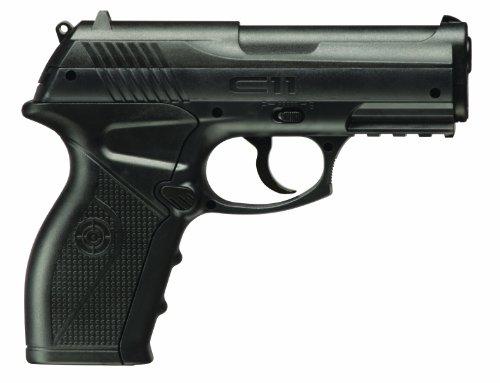 Crosman C11 Semi-Auto CO2-Powered BB Air Pistol , black