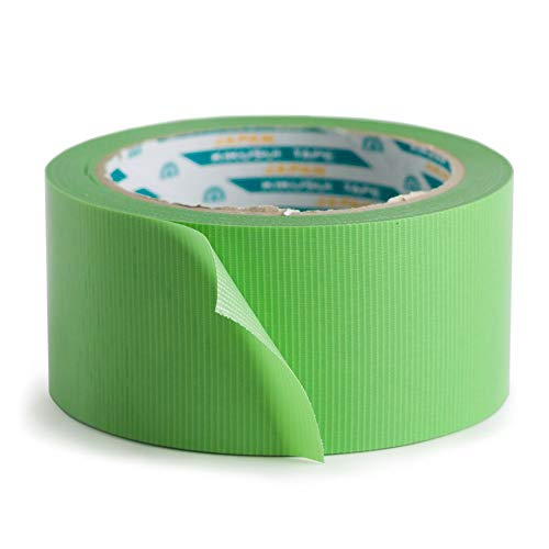 養生テープ わさびちゃん 緑 はがせる 日本製 低臭 50mm 25m 5個セット Z3K マステ マスキングテープ ECO 業務用 プロ仕様