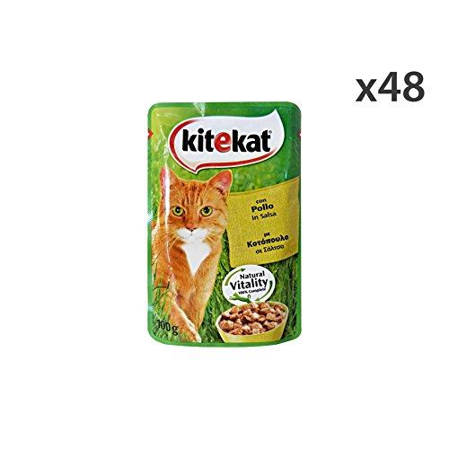 Kitekat für Katzenfutter, Fleisch, Mehrfarbig, Einheitsgröße