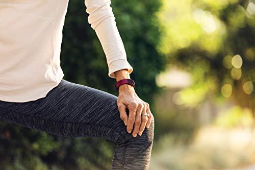 Fitbit Inspire HR, Pulsera de salud y actividad física con ritmo cardiaco, Blanco/Negro 8