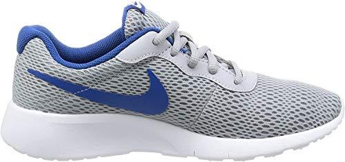 Nike Nike Jungen Tanjun (GS) Sneaker, Grau (Wolf Grey/Blue Jay-White), 36 EU