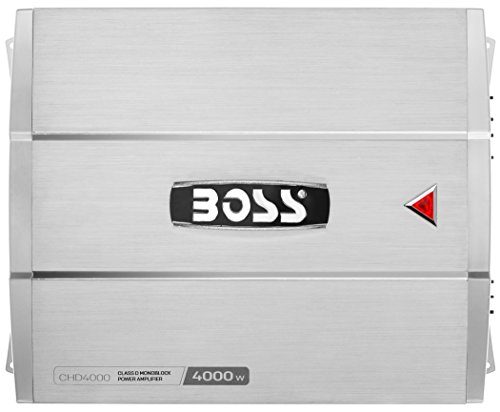 Great Price! BOSS Audio Systems CHD4000 CHAOS 4000-Watt Monoblock, Class D 1 to 8 Ohm Stable Monoblo...